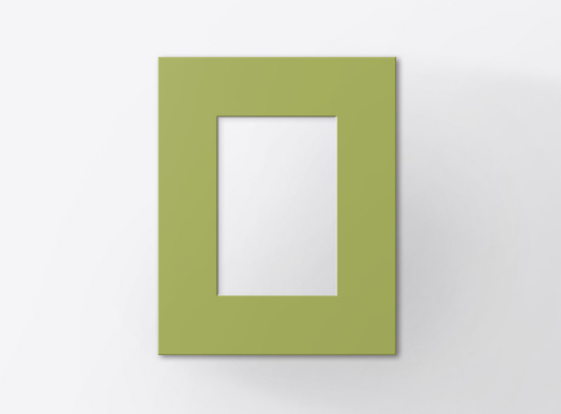 cartolina verde
