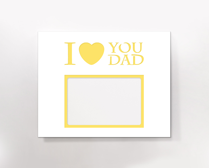 I love you dad (branco)